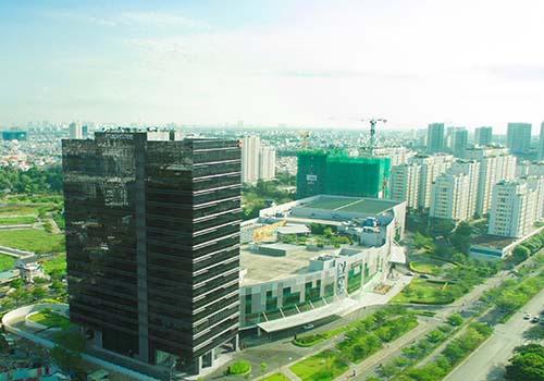 Tòa nhà Mapletree Business Centre - Saigon South Place Complex