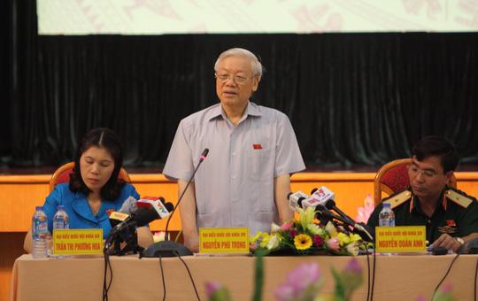 Tổng Bí thư: Từ Ủy viên Trung ương phải không tham vọng quyền lực - Ảnh 1.