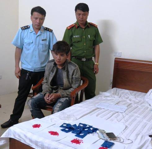 Lê Chung Dũng bị lực lượng chức năng bắt giữ