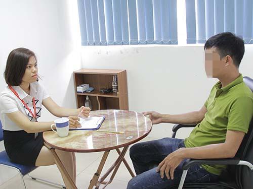 Một người nghiện ma túy được cai nghiện thành công bằng liệu pháp trị liệu tâm lý ảnh: PSD