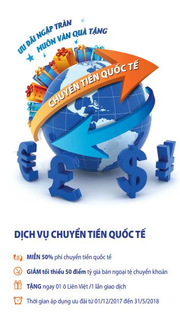 LienVietPostBank dành ưu đãi đối với khách hàng chuyển tiền quốc tế - Ảnh 1.