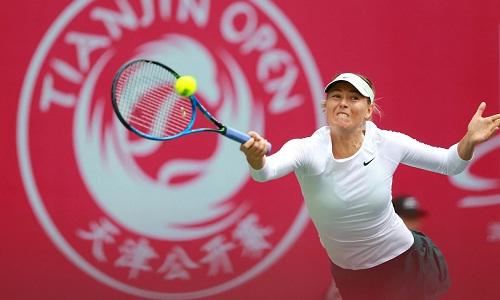 Sharapova lên ngôi vương giải Thiên tân mở rộng - Ảnh 1.