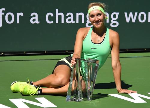 Elena Vesnina giành cúp vô địch đơn nữ