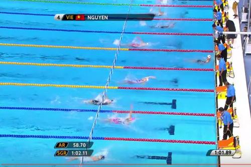 SEA Games ngày 21-8: Ánh Viên giành HCV, phá kỷ lục 100 m ngửa - Ảnh 1.