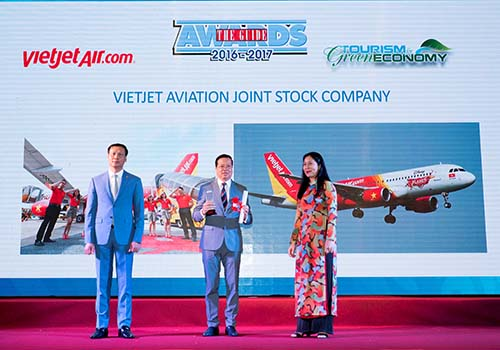 Vietjet đoạt giải Hãng hàng không tiên phong - Ảnh 1.