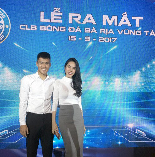 Công Vinh tâng bóng khánh thành đội bóng Bà Rịa Vũng Tàu - Ảnh 2.