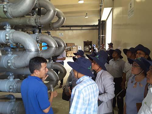 Đoàn Lào tham quan học tập mô hình VWS - Ảnh 2.