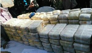 Số ma túy bị tịch thu của nhà sư Arsara. Ảnh: RPL