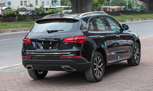 Zotye Sport 2017 - SUV lạ lần đầu xuất hiện ở Việt Nam - Ảnh 4.