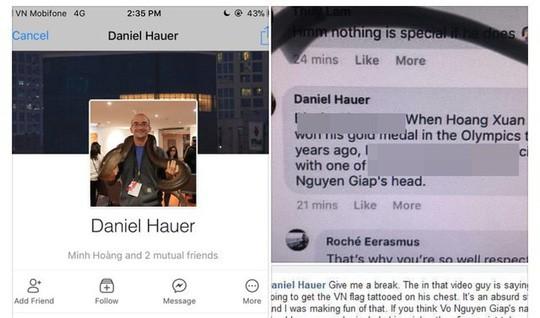 Có nên trục xuất Daniel Hauer sau khi xúc phạm Đại tướng Võ Nguyên Giáp? - Ảnh 1.