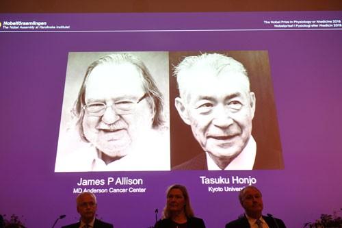 Nobel Y học 2018: Tháo phanh tế bào miễn dịch, diệt gọn ung thư - Ảnh 1.