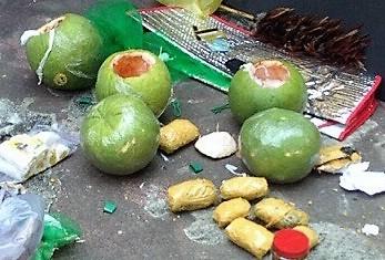 Những trái bưởi chết người từ TP HCM gửi ra Hải Phòng - Ảnh 1.