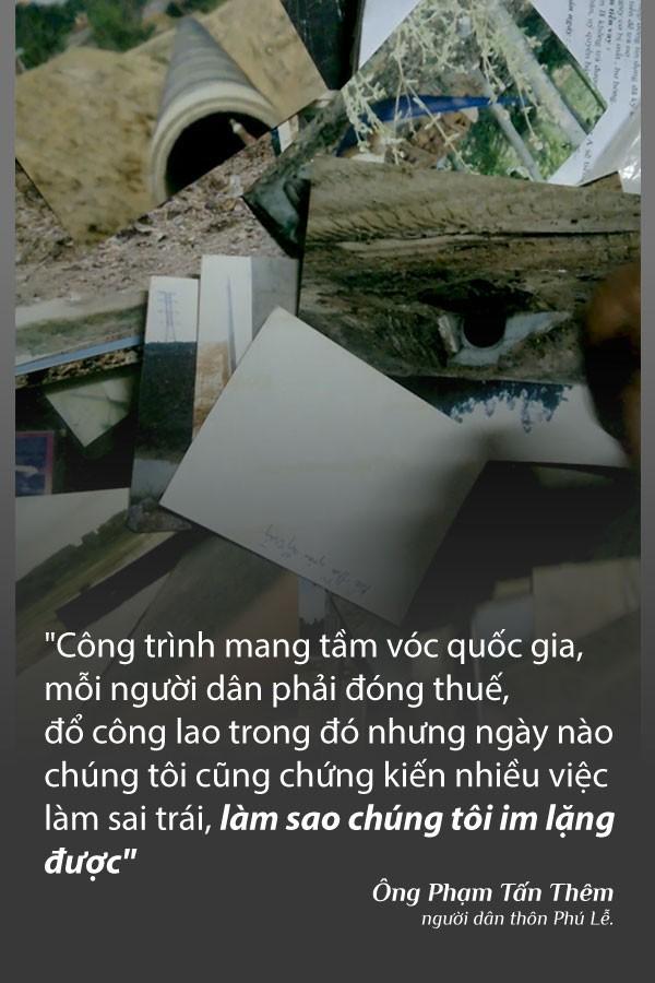 """(eMagazine) - Ông Lực """"khùng"""" bóc mẽ sai phạm tuyến cao tốc Đà Nẵng - Quảng Ngãi - Ảnh 2."""