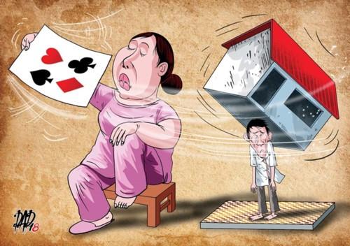 Khi vợ là con ma bài bạc - Ảnh 1.