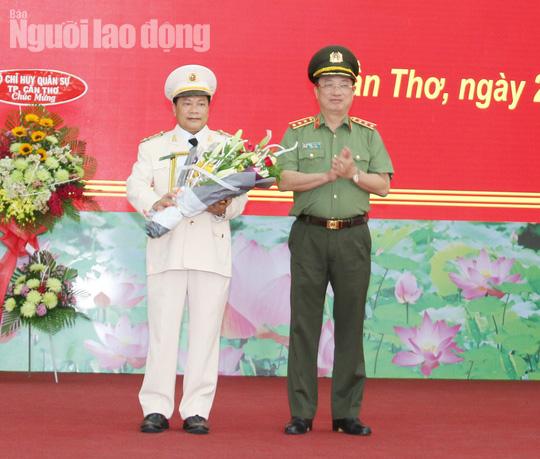 Công an TP Cần Thơ có tân giám đốc - Ảnh 1.