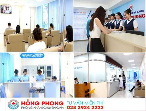 Khám gan tại phòng khám chuyên gan Hồng Phong - Ảnh 2.