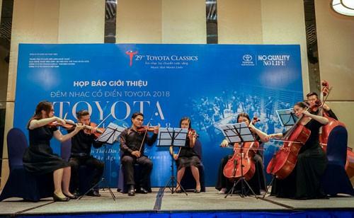 Đêm nhạc cổ điển Toyota 2018 - Ảnh 1.