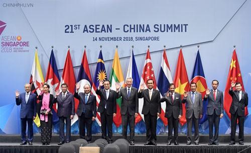 Xây dựng lòng tin ASEAN - Trung Quốc - Ảnh 1.