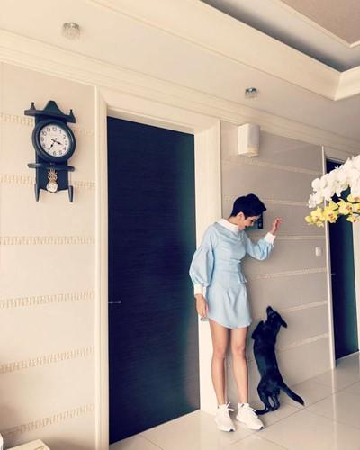 Đột nhập căn hộ cao cấp của Hoa hậu HHen Niê - Ảnh 8.
