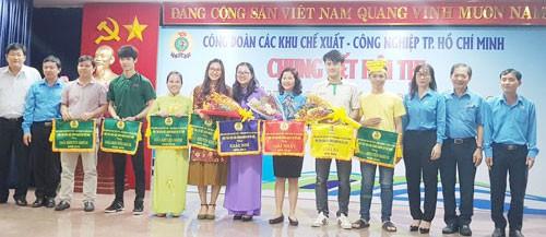 Chung kết Hội thi cán bộ Công đoàn cơ sở giỏi các KCX-KCN - Ảnh 1.