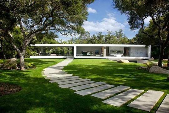 Ngắm ngôi nhà tối giản nhất thế giới giá 24 triệu USD - Ảnh 1.