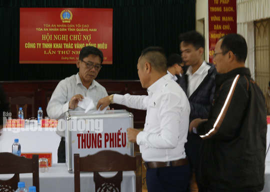 Vàng Bồng Miêu chính thức phá sản, để lại số nợ gần 1.000 tỉ đồng - Ảnh 1.