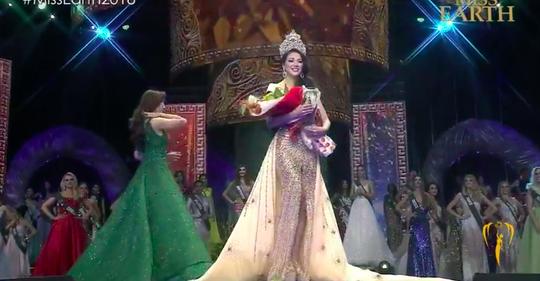 Phương Khánh đăng quang Hoa hậu Trái đất 2018 - Ảnh 1.