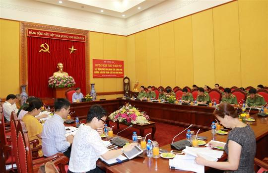 Bộ Công an công bố dự thảo Nghị định về Luật An ninh mạng - Ảnh 1.