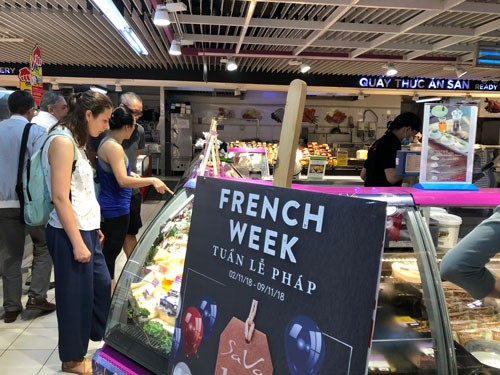 Hàng Pháp giảm giá mạnh tại Big C - Ảnh 1.