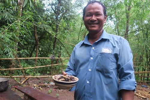 Rùng mình món nhện rừng đặc sản ở Bình Thuận - Ảnh 5.
