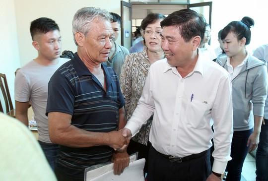 Đúng 8 giờ sáng nay, Chủ tịch UBND TP HCM sẽ gặp dân Thủ Thiêm - Ảnh 1.