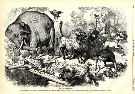 Mỹ: Vì sao đảng Dân chủ là lừa, còn Cộng hòa là voi? - Ảnh 3.