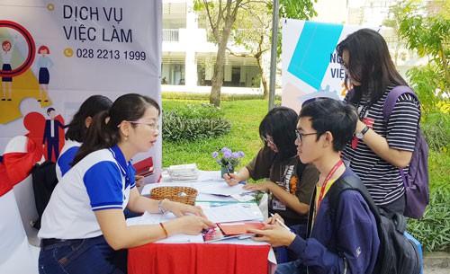 4.000 sinh viên tham dự ngày hội việc làm - Ảnh 1.