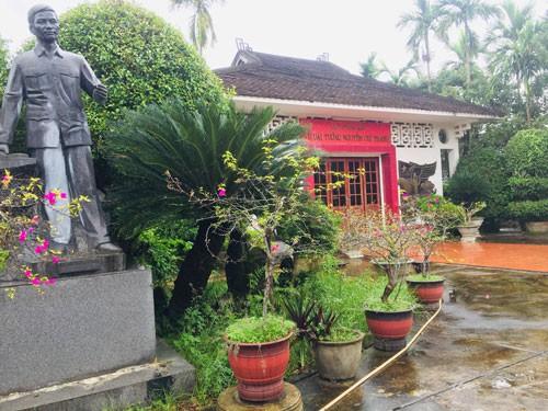 Xây khu lưu niệm nhà thơ Tố Hữu 25 tỉ đồng - Ảnh 1.