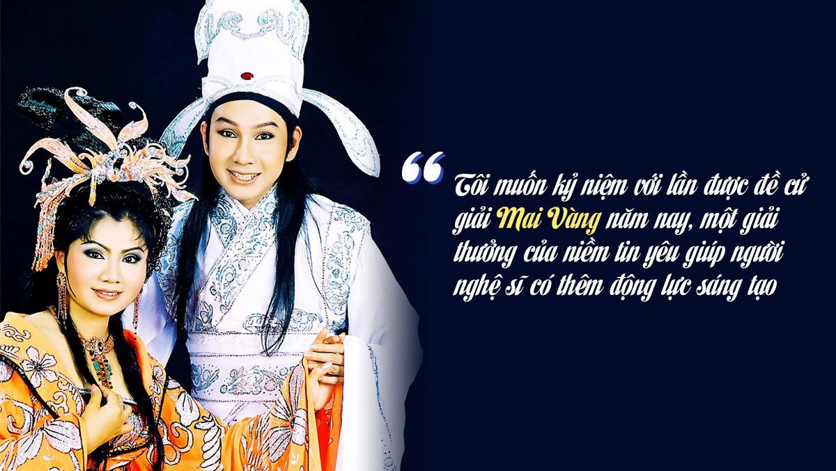 """[Emagazine] Nghệ sĩ ưu tú Vũ Luân: """"Giải Mai Vàng là ngôi nhà hạnh phúc"""" - Ảnh 4."""