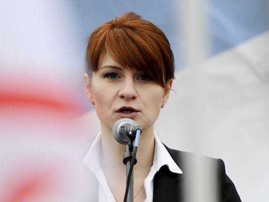 """""""Người đẹp tóc đỏ"""" nhận tội làm gián điệp cho Nga tại Mỹ - Ảnh 1."""