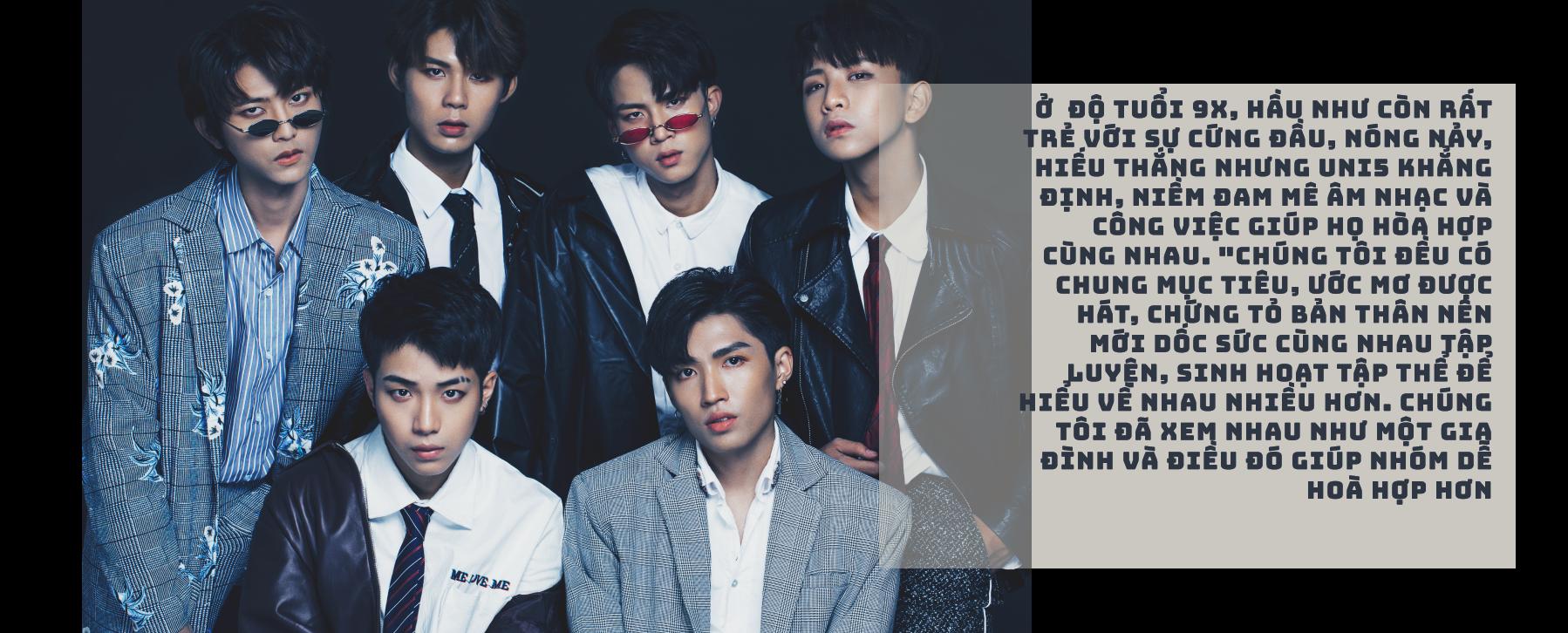 """[eMagazine] - Uni5: Nhóm nhạc """"nam thần"""" của showbiz Việt - Ảnh 6."""