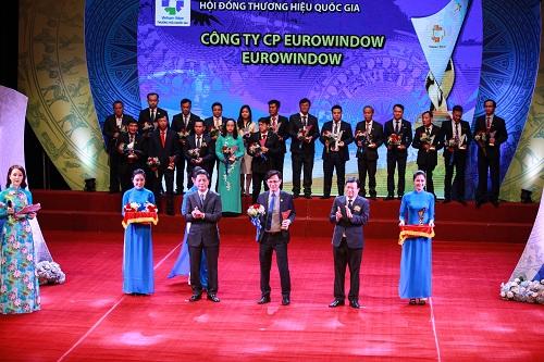 Eurowindow 4 lần liên tiếp đạt Thương hiệu Quốc gia - Ảnh 2.
