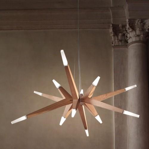Trang trí đèn chùm trong ngôi nhà hiện đại - Ảnh 1.