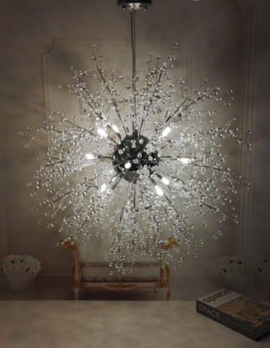 Trang trí đèn chùm trong ngôi nhà hiện đại - Ảnh 9.