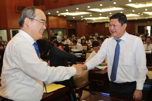 Bí thư Thành ủy TP HCM nói về Thủ Thiêm, công tác cán bộ - Ảnh 1.