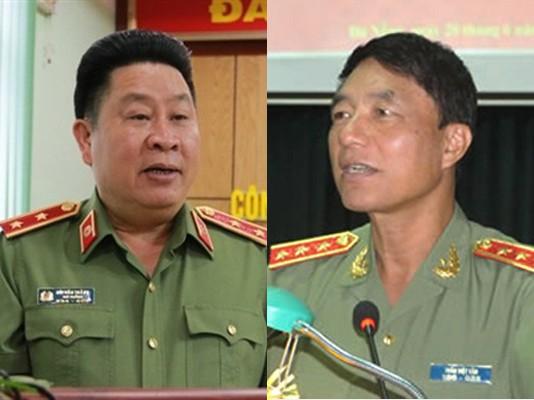 Khởi tố 2 cựu thứ trưởng Bộ Công an Trần Việt Tân và Bùi Văn Thành - Ảnh 1.