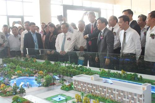 Khánh thành nhà máy đốt rác phát điện hơn 1.000 tỉ đồng - Ảnh 1.