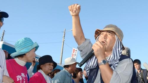 Căn cứ nóng bỏng ở Okinawa - Ảnh 1.