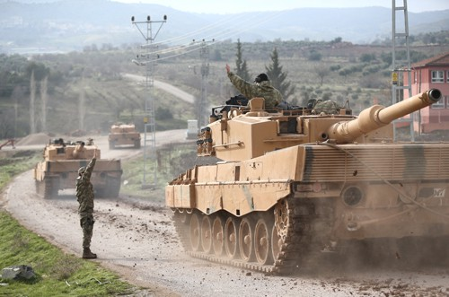 Thổ Nhĩ Kỳ tung chiến dịch Nhành ô-liu vào Syria - Ảnh 1.