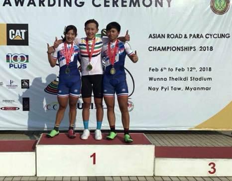 Nguyễn Thị Thật giành HCV xe đạp châu Á 2018 - Ảnh 1.