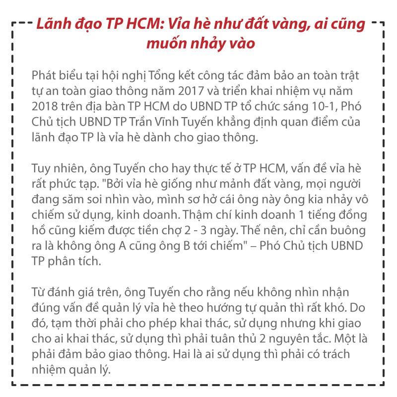 (eMagazine) - Vỉa hè Sài Gòn năm qua có gì thay đổi - Ảnh 10.