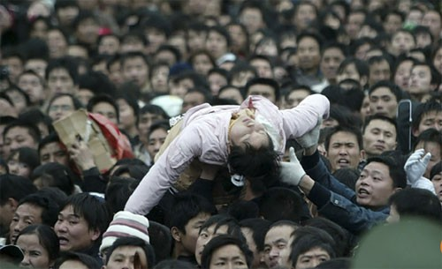 Bi kịch du lịch trong Tết Nguyên đán ở Trung Quốc - Ảnh 3.
