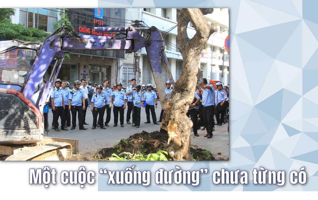 (eMagazine) - Vỉa hè Sài Gòn năm qua có gì thay đổi - Ảnh 2.
