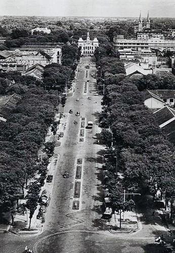 Năm đại lộ đầu tiên của Sài Gòn xưa - Ảnh 1.